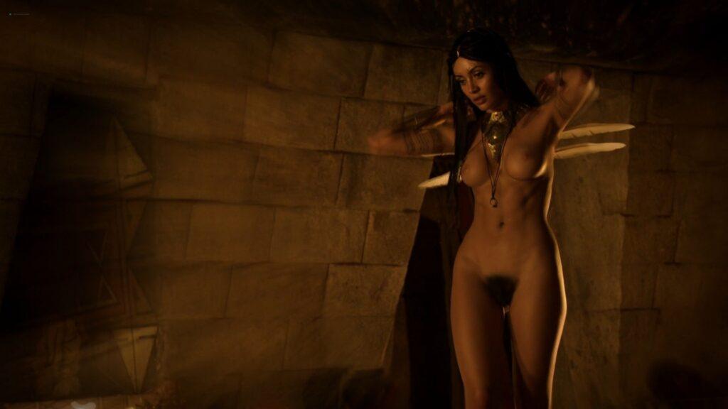 Carolina Guerra nude full frontal Da Vincis Demons 2014 S2 1080p BluRay 6