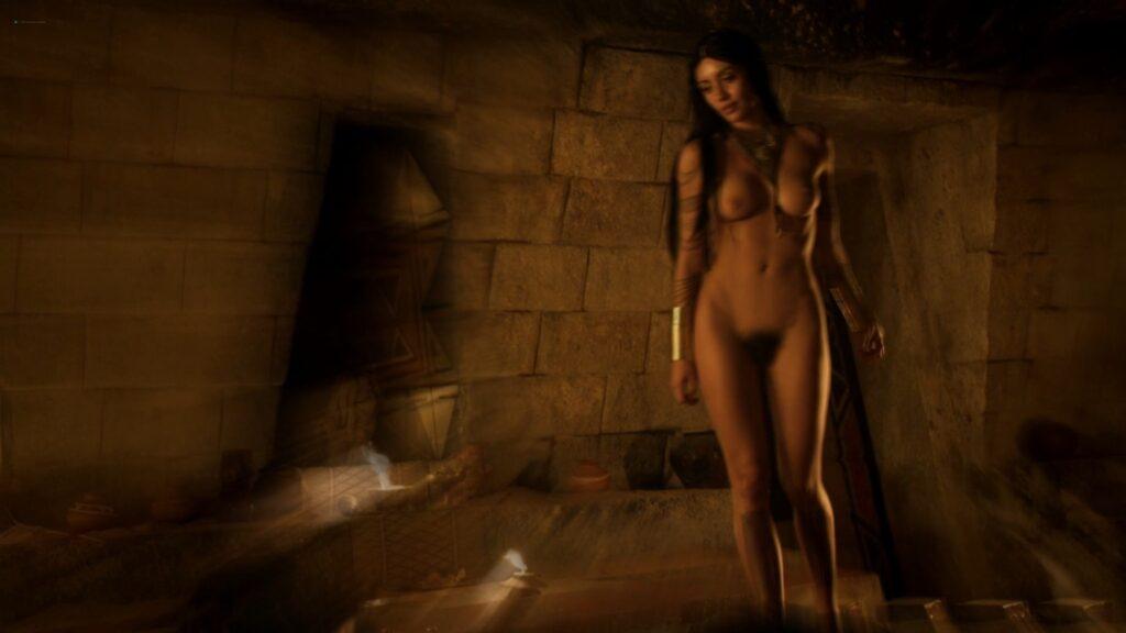 Carolina Guerra nude full frontal Da Vincis Demons 2014 S2 1080p BluRay 8