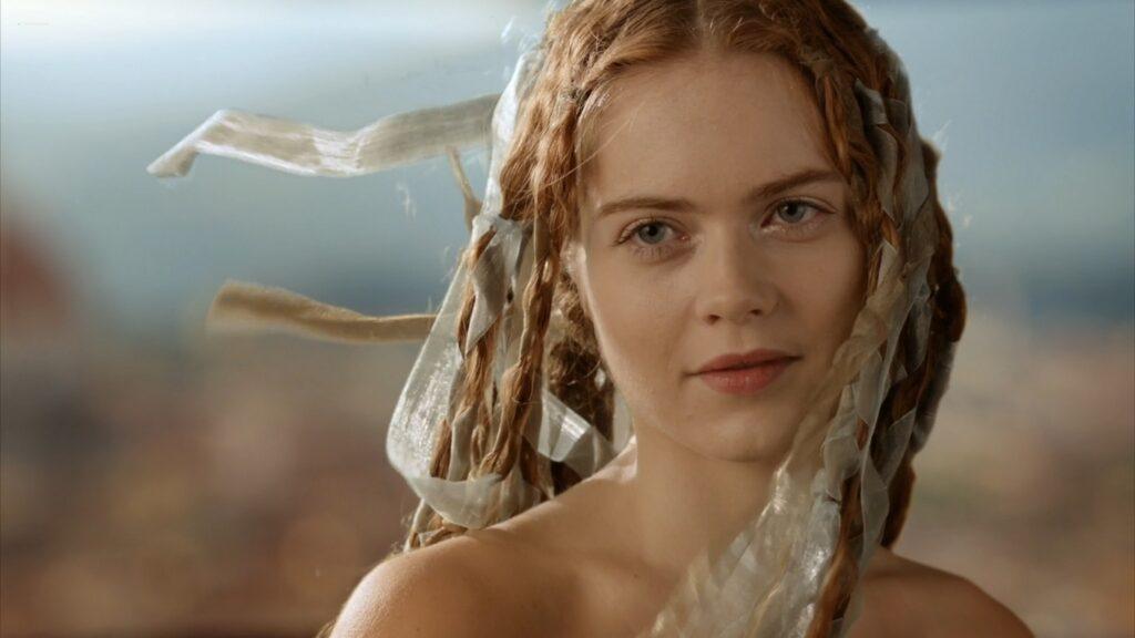 Hera Hilmar nude sex Sarah Ball nude Da Vincis Demons 2013 S1 1080p BluRay