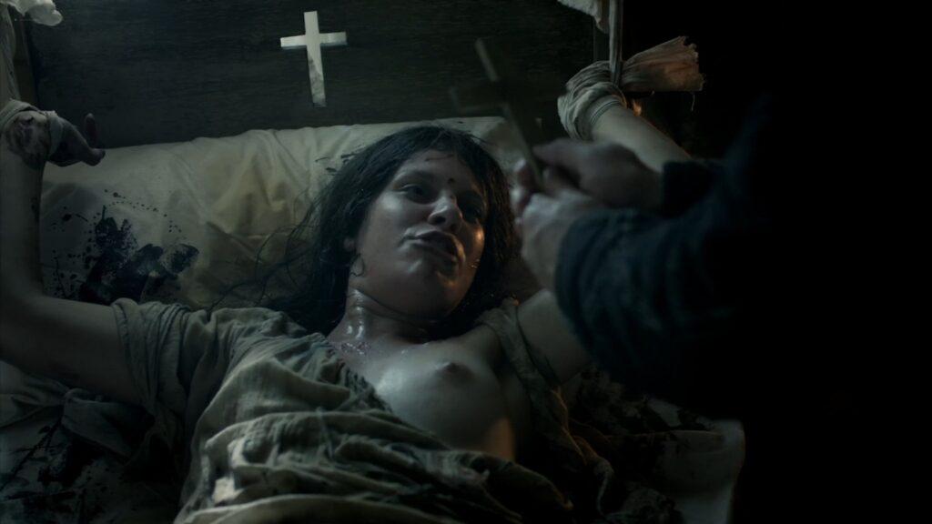 Hera Hilmar nude sex Sarah Ball nude Da Vincis Demons 2013 S1 1080p BluRay 10