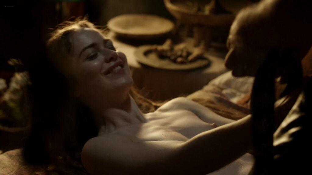 Hera Hilmar nude sex Sarah Ball nude Da Vincis Demons 2013 S1 1080p BluRay 15