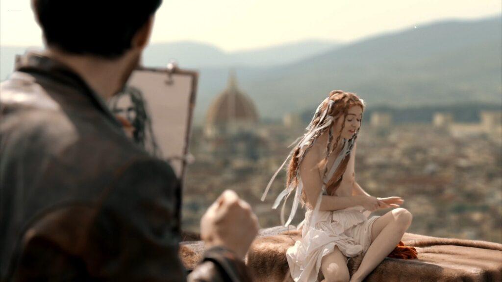 Hera Hilmar nude sex Sarah Ball nude Da Vincis Demons 2013 S1 1080p BluRay 6