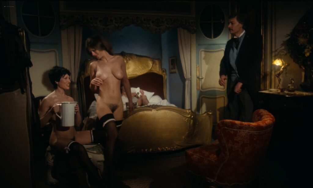 Jacqueline Kerry nude full frontal and sex Eva Quang and others nude Le jardin des supplices 1976 1080p BluRay 2