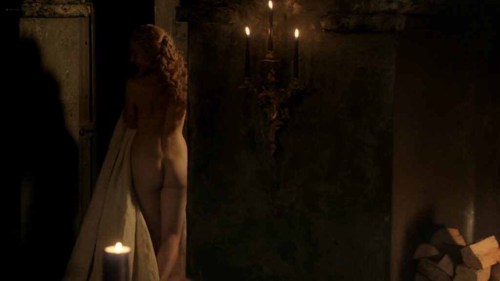 Jeany Spark nude full frontal and sex Da Vincis Demons 2014 S2 1080p BluRay 13