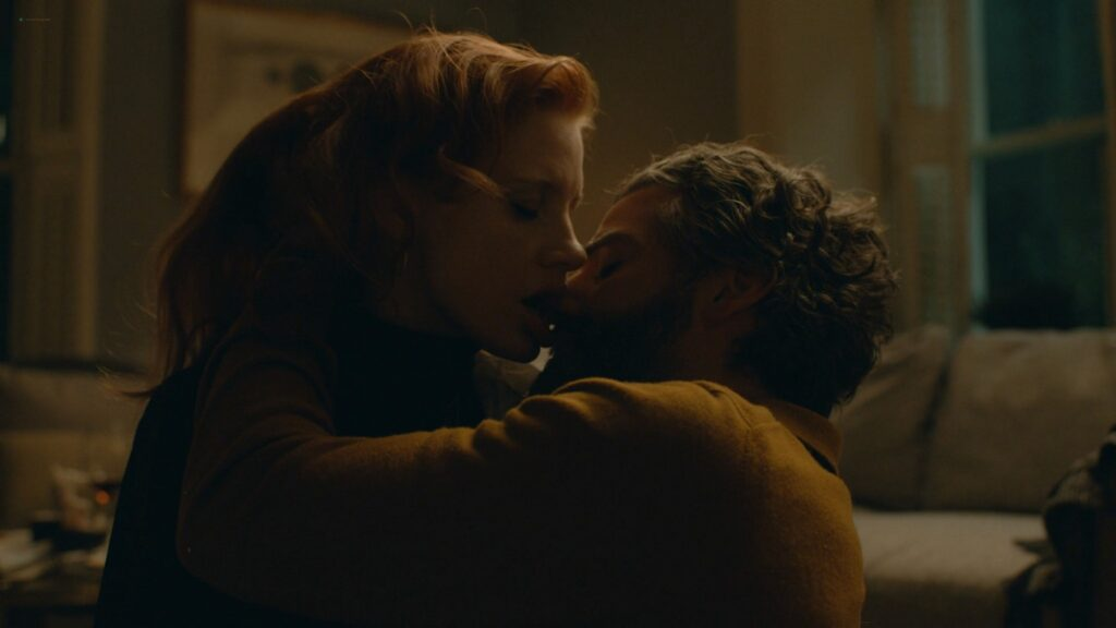 Jessica Chastain sexy Scenes From a Marriage 2021 s1e3 1080p WEB 7