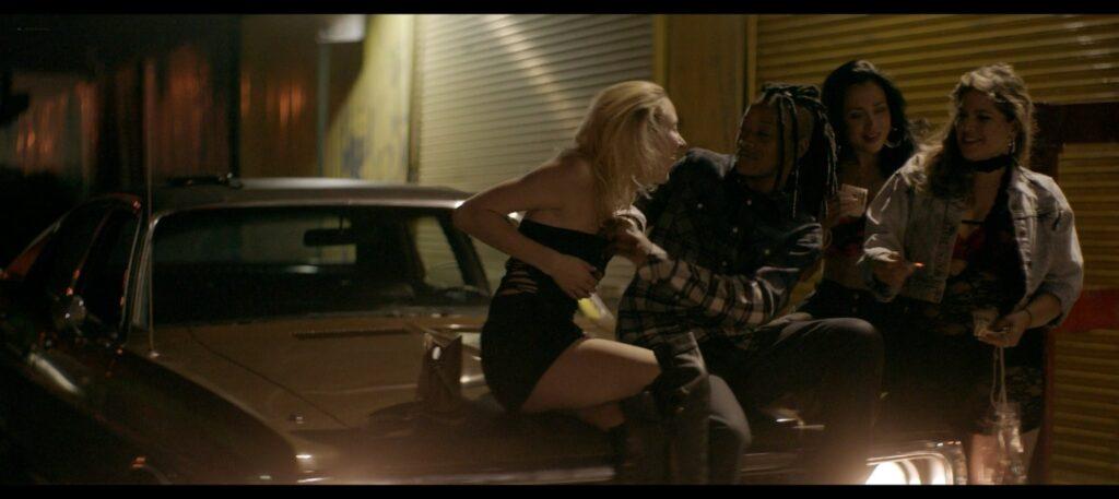 Keke Palmer nude lesbian sex with Haley Ramm Pimp 2018 1080p BluRay 11