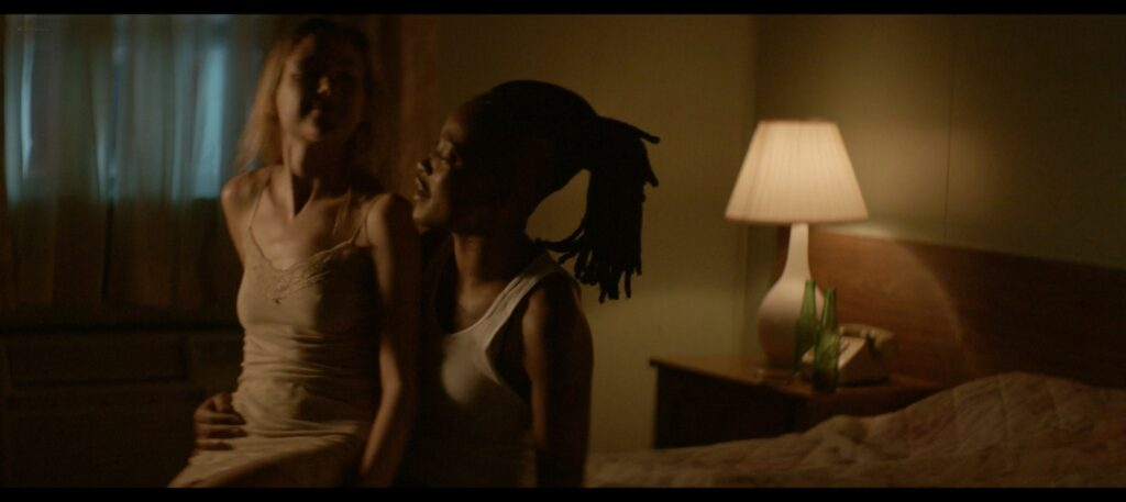Keke Palmer nude lesbian sex with Haley Ramm Pimp 2018 1080p BluRay 8