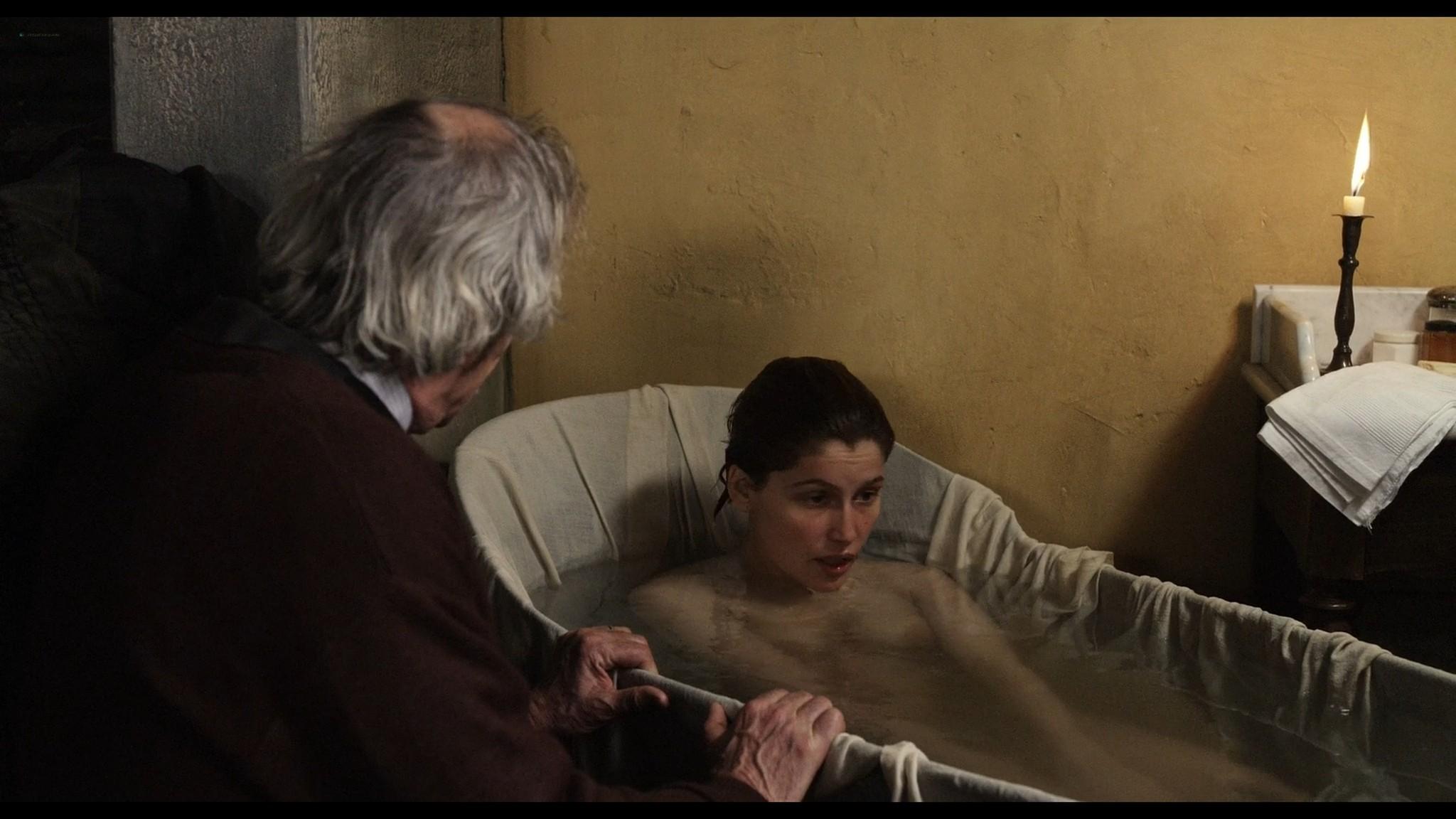 Laetitia Casta nude topless and very hot La jeune fille et les loups 2007 HD 1080p BluRay 11