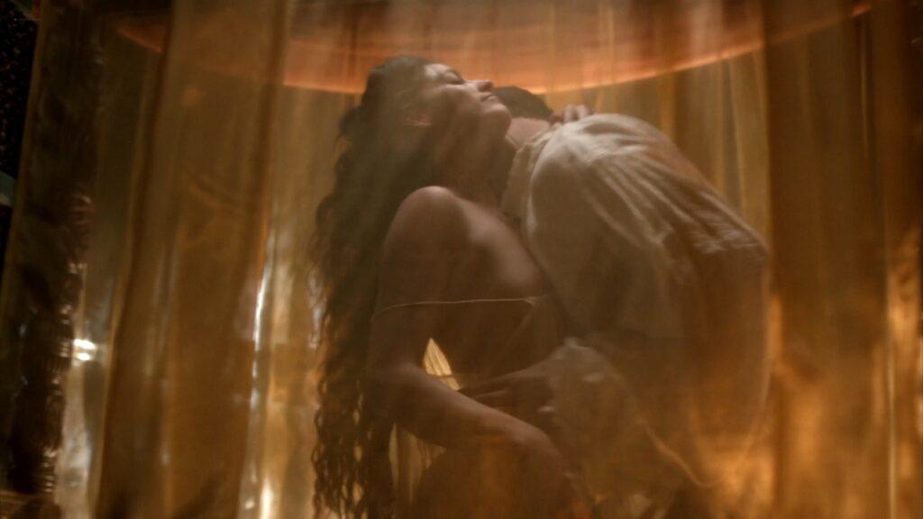 Lara Pulver nude sex Da Vincis Demons 2013 S1 1080p BluRay 12