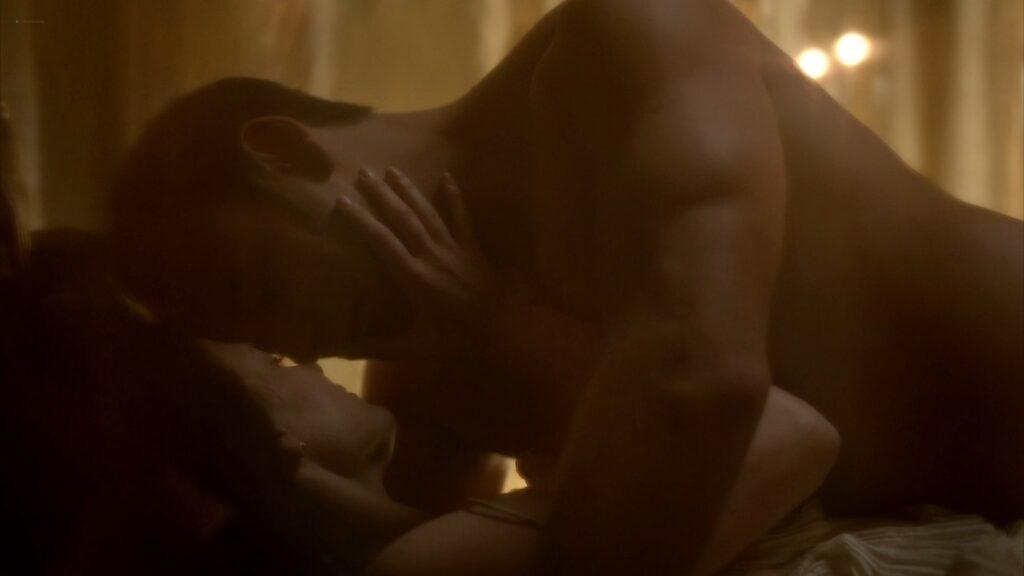 Lara Pulver nude sex Da Vincis Demons 2013 S1 1080p BluRay 14