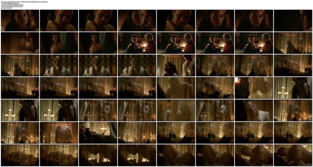 Lara Pulver nude sex Da Vincis Demons 2013 S1 1080p BluRay 15