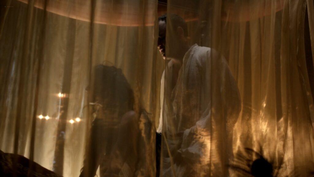 Lara Pulver nude sex Da Vincis Demons 2013 S1 1080p BluRay 6