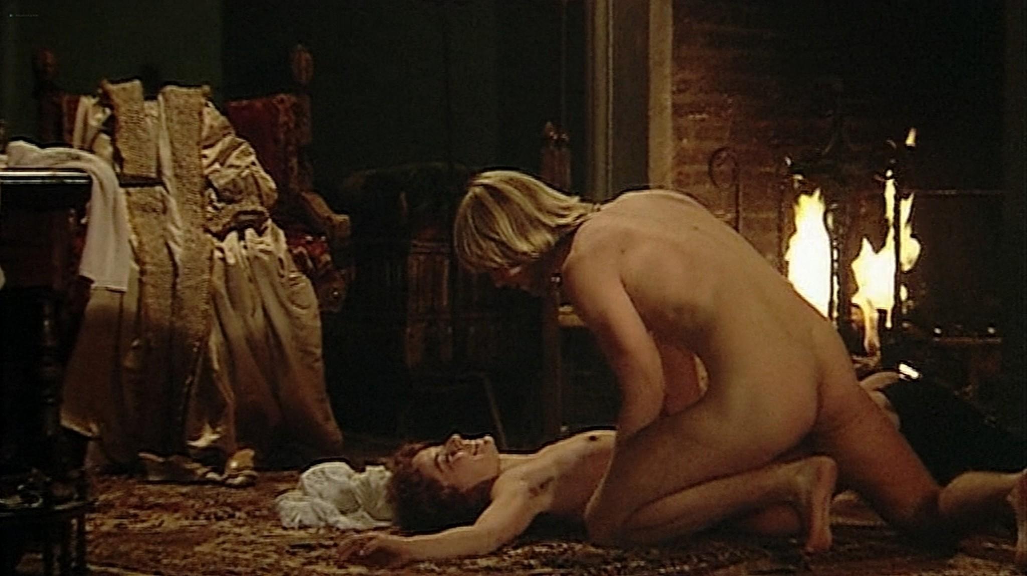 Laura Antonelli nude topless and sex Monica Guerritore nude topless and Clelia Rondinella nude lesbian sex La Venexiana 1986 DVDRip 18