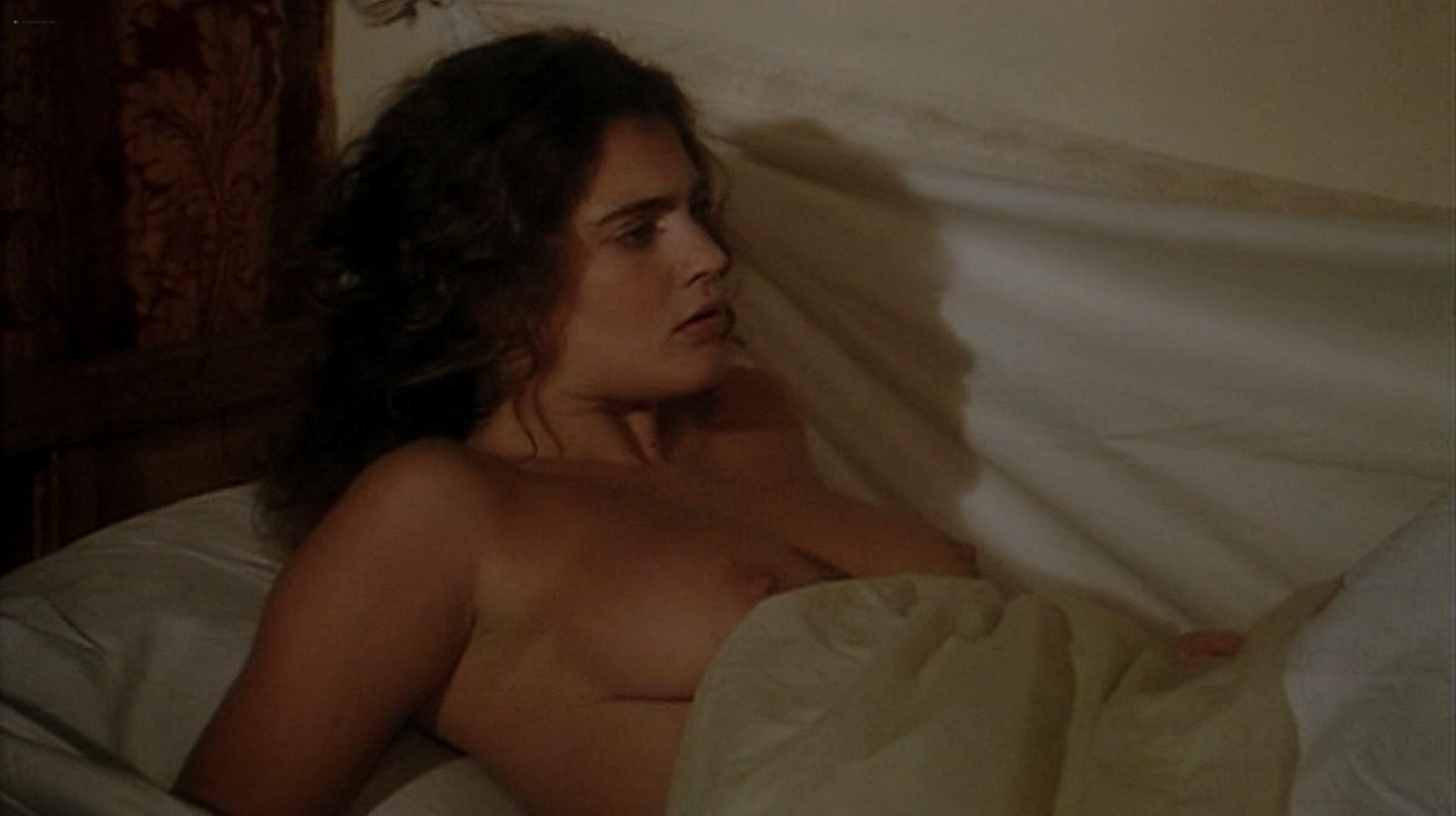 Laura Antonelli nude topless and sex Monica Guerritore nude topless and Clelia Rondinella nude lesbian sex La Venexiana 1986 DVDRip 3