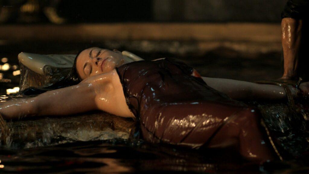 Laura Haddock nude Lara Pulver Hera Hilmar sexy others nude Da Vincis Demons 2014 S3 1080p BluRay