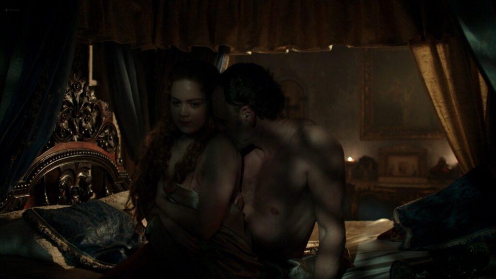 Laura Haddock nude Lara Pulver Hera Hilmar sexy others nude Da Vincis Demons 2014 S3 1080p BluRay 11