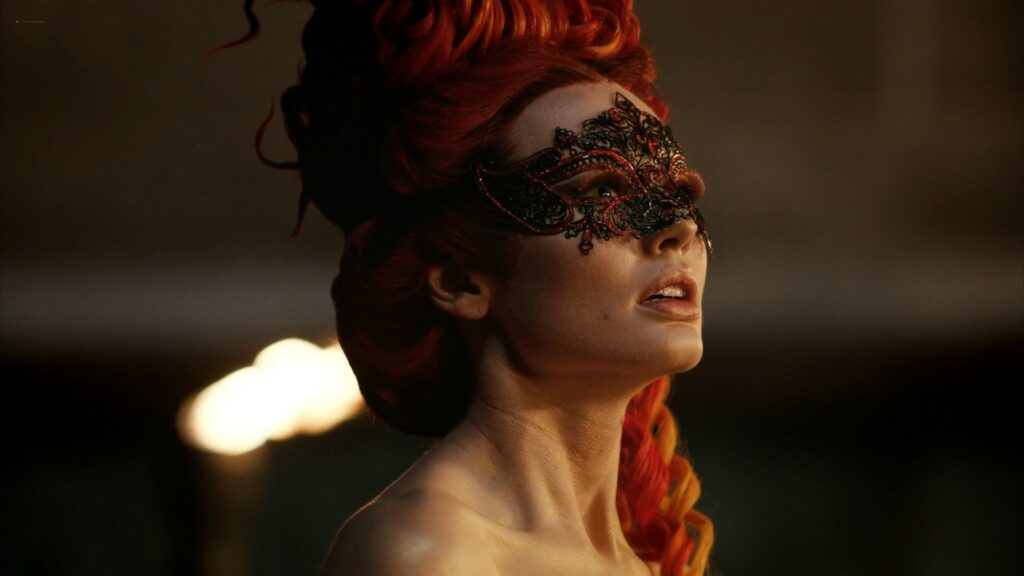 Laura Haddock nude full frontal bush and sex Da Vincis Demons 2013 S1 1080p BluRay