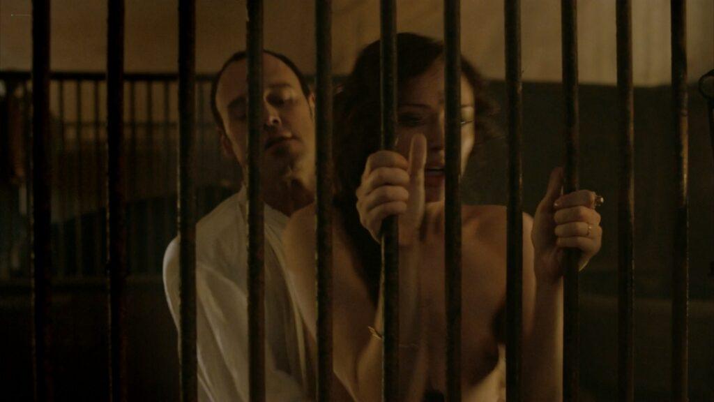 Laura Haddock nude full frontal bush and sex Da Vincis Demons 2013 S1 1080p BluRay 12