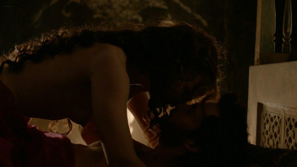 Laura Haddock nude full frontal bush and sex Da Vincis Demons 2013 S1 1080p BluRay 17