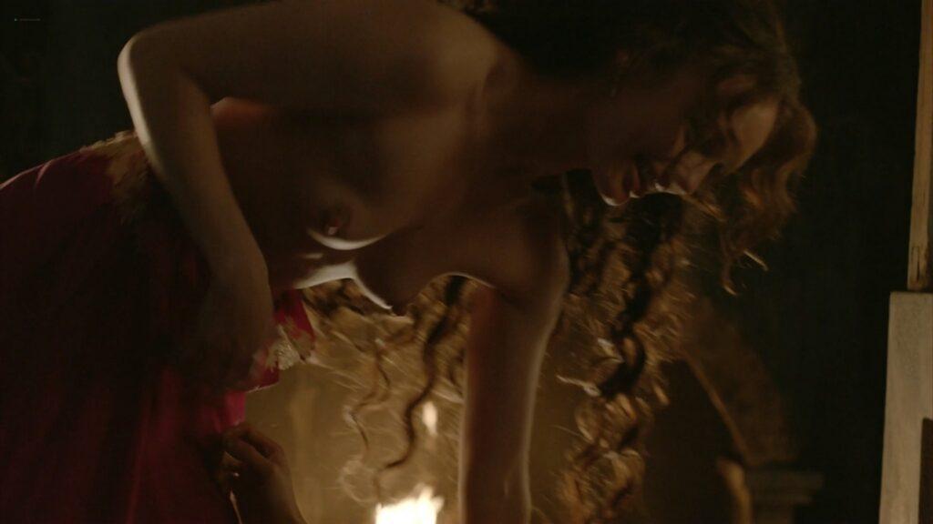 Laura Haddock nude full frontal bush and sex Da Vincis Demons 2013 S1 1080p BluRay 18