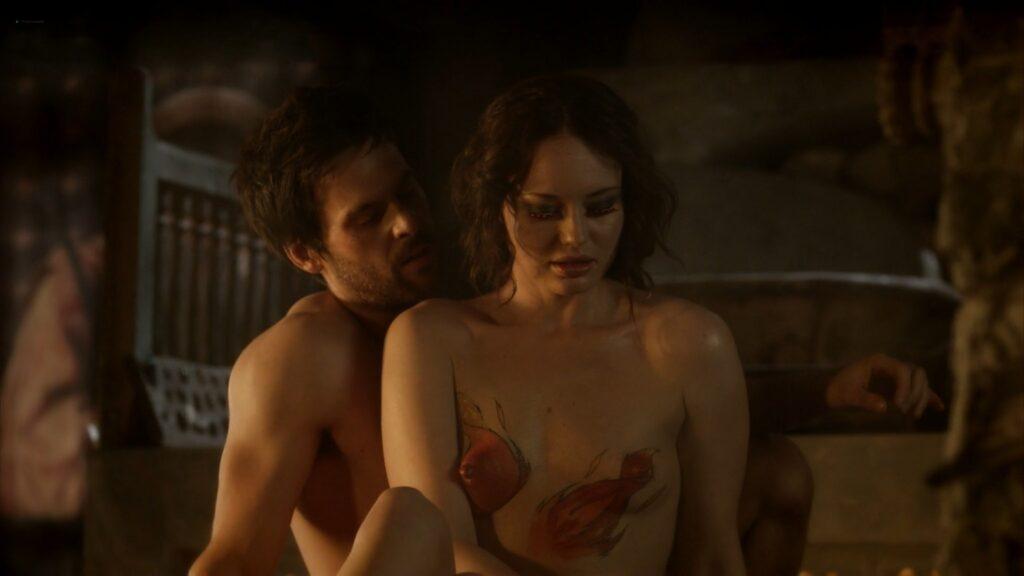 Laura Haddock nude full frontal bush and sex Da Vincis Demons 2013 S1 1080p BluRay 5