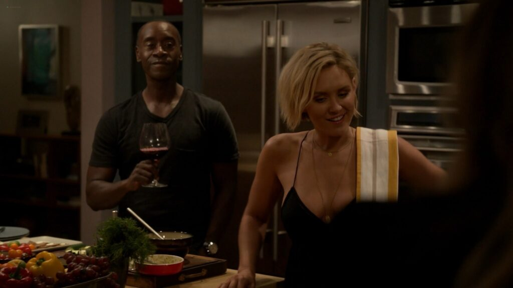 Nicky Whelan nude sex Kristen Bell Dawn Olivieri and others nude and sexy House of Lies 2016 S5 1080p Web 2