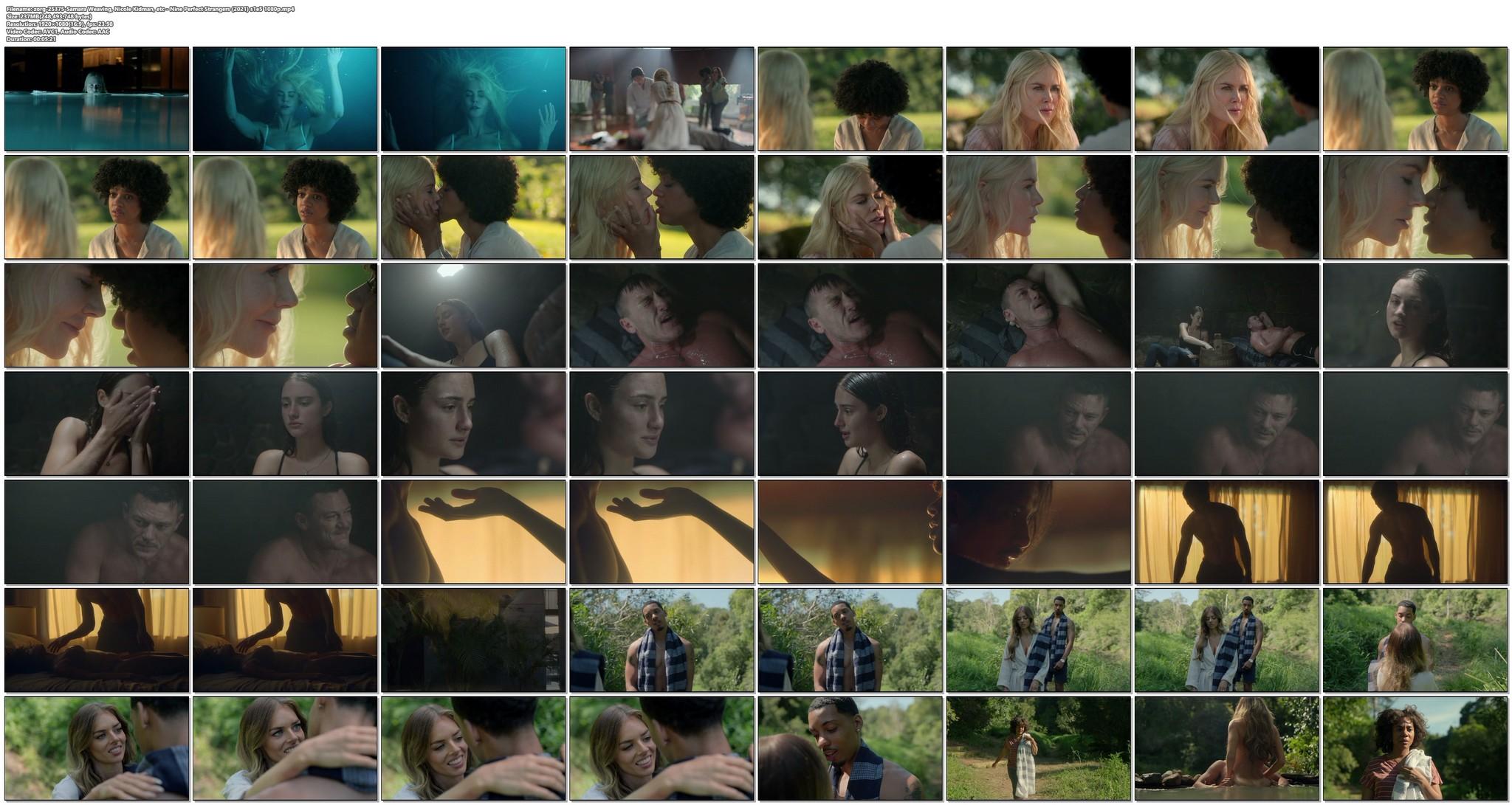 Samara Weaving hot sex Nicole Kidman and others sexy Nine Perfect Strangers 2021 s1e5 1080p 17