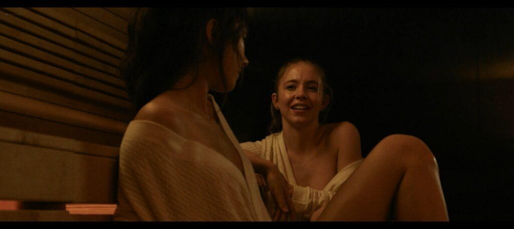 Sydney Sweeney nude hot sex Natasha Liu Bordizzo and others nude sex too The Voyeurs 2021 1080p Web 14