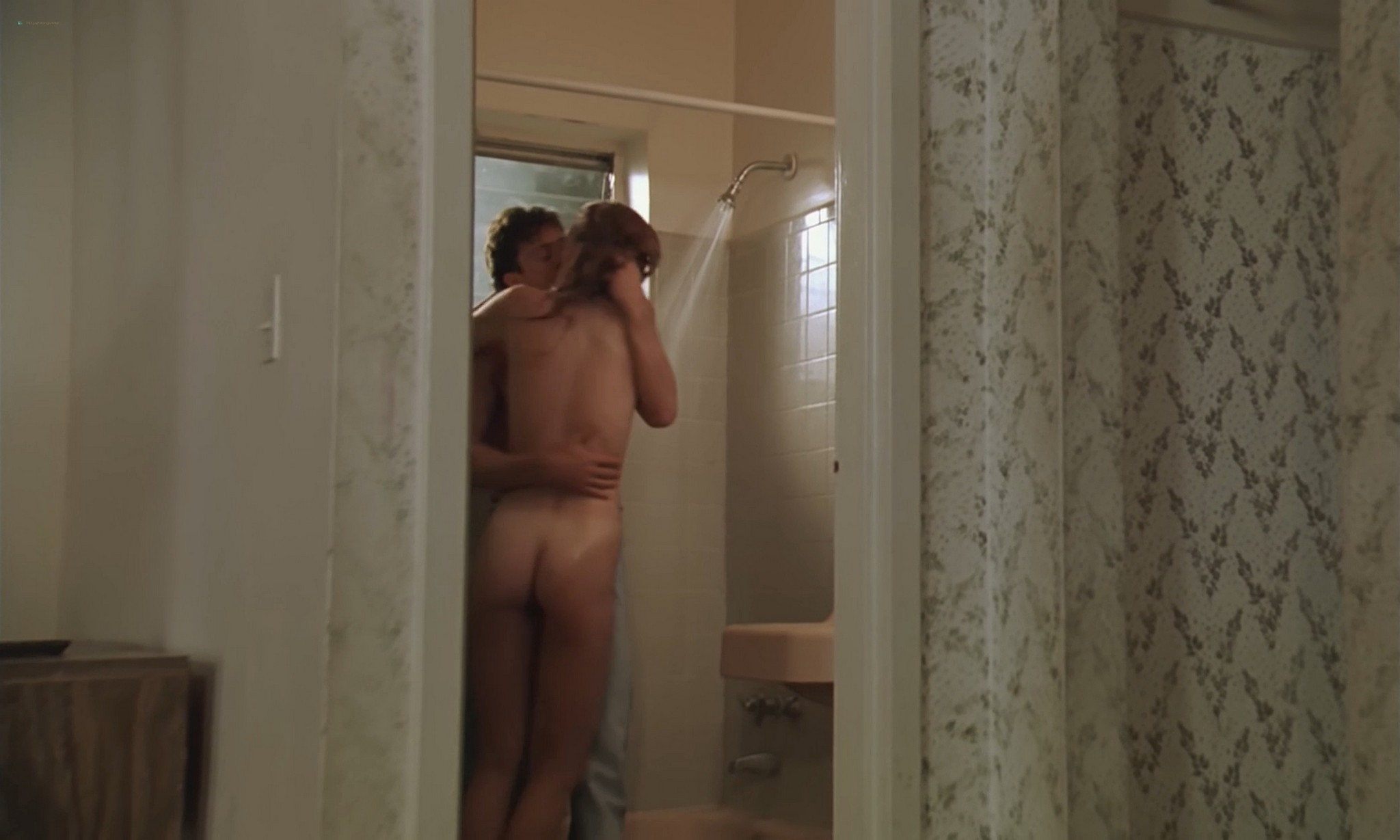 Victoria Prouty nude and sex in the shower American Rickshaw 1989 1080p BluRay 13