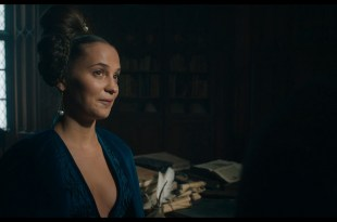 Alicia Vikander hot and some sex - The Green Knight (2021) 1080p BluRay