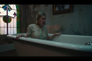 Carlson Young hot sexy and see through The Blazing World 2021 1080p Web 15