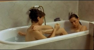 Emmanuelle Beart nude lesbian sex with Pascale Bussieres La repetition FR 2001 5