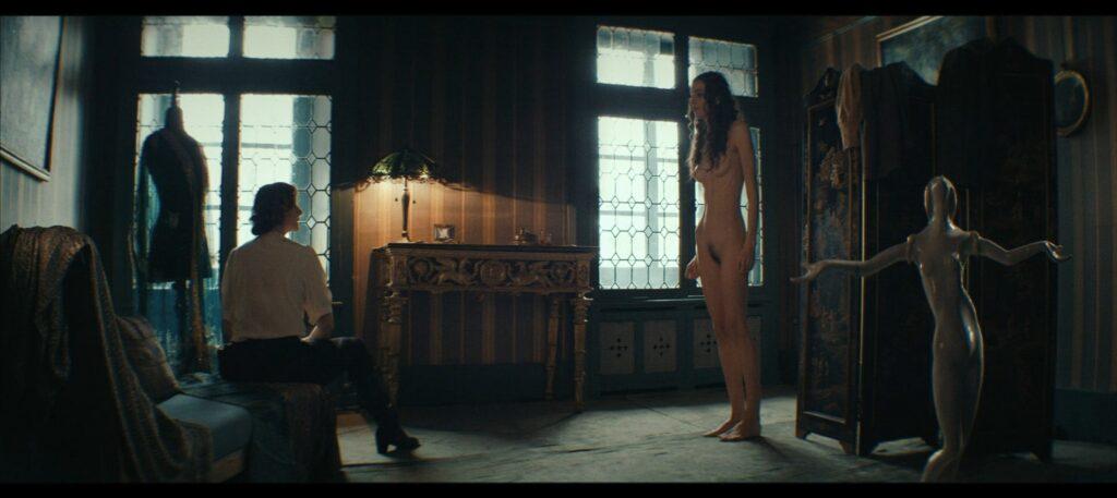 Janina Rudenska nude full frontall Martina Limonta Lidiya Liberman nude too Il cattivo poeta IT 2020 1080p Web 9