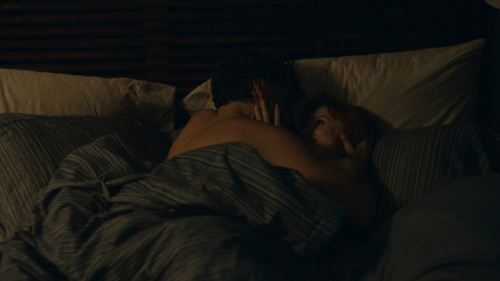 Jessica Chastain nude side boob sex and see through – Scenes From a Marriage 2021 s1e5 1080p 8