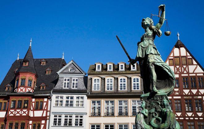 Fankfurt: Fonte da Justiça | Foto: Jorge Royan/CC