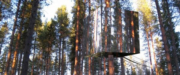 Tree Hotel, Cubo de Espelho