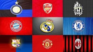 Os clubes mais valiosos do mundo e o rico futebol europeu