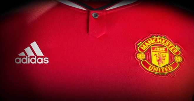 Camiseta do Manchester United