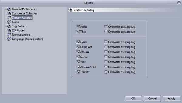 Auto tag your Mp3 Files