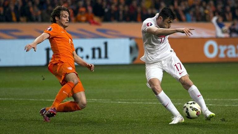 Λυτρώθηκε στο 90' η Ολλανδία, 1-1 με την Τουρκία