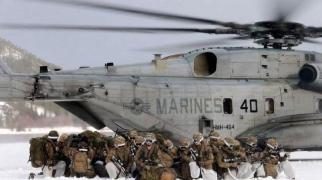 Αμερικανοί πεζοναύτες ακυρώνουν άσκηση του ΝΑΤΟ στη Νορβηγία λόγω Ιράν