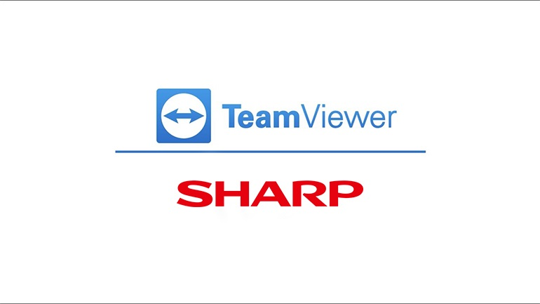 Συνεργασία TeamViewer με Sharp [Coupondealer.gr]