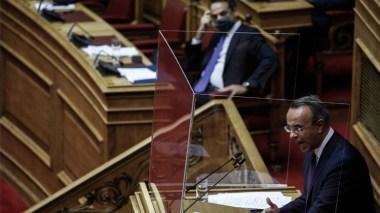 Καταψηφίστηκε η πρόταση μομφής κατά του Χρήστου Σταϊκούρα