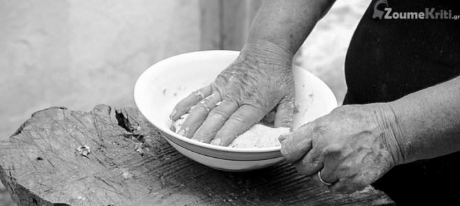 Ζυμωτό ψωμί στο ξυλόφουρνο της γιαγιάς