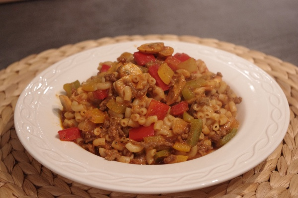 Goulash macaroni