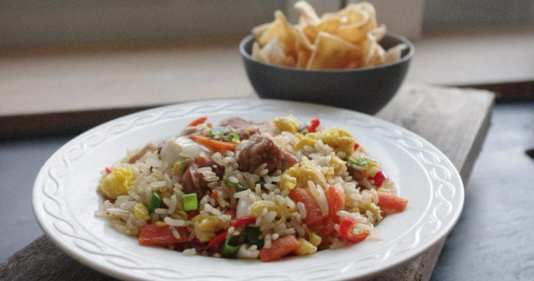Authentieke Indonesische nasi goreng