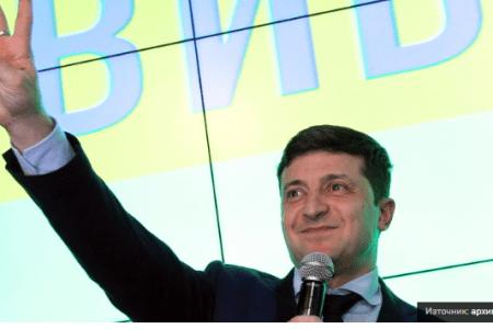 Зеленски ще спечели с огромна преднина президентските избори в Украйна