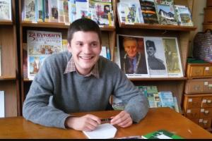 """Йордан Димитров Радичков – внук представи книгата си """"Игра на гъски"""