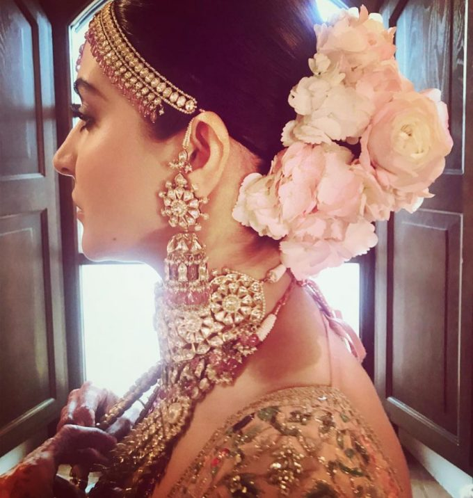 top trend - floral hairstyles for brides this wedding season!
