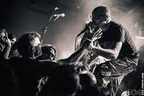 Death Awaits, Brutale Coalition festival, Club du Transbordeur (Villeurbanne), le 28 février 2014.